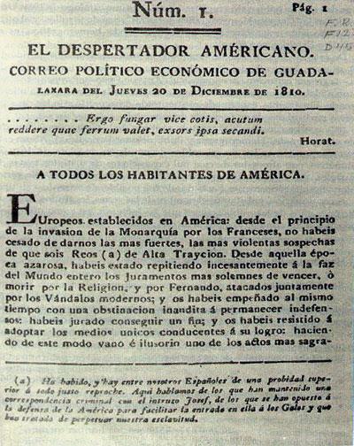Image result for EL DESPERTADOR AMERICANO