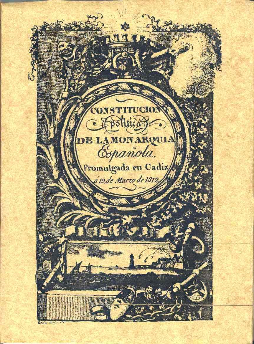 La Constitución de Cádiz y México  Historia, crítica ...